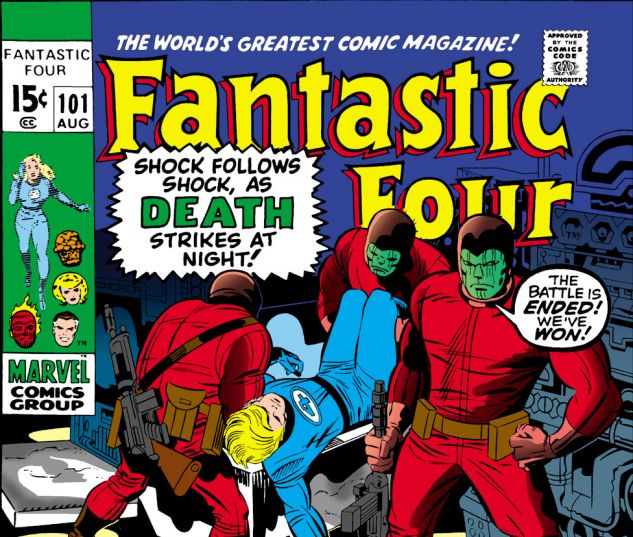 Fantastic Four (1961) #101 Cover