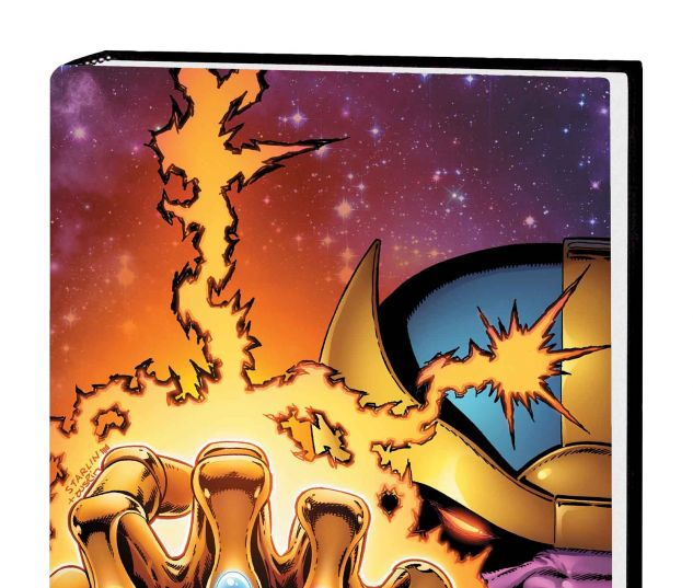 INFINITY GAUNTLET OMNIBUS HC STARLIN COVER (DM ONLY)