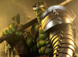 King Hulk Premium Format Figure from Sideshow Collectibles