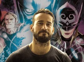 Welcome to Marvel, CM Punk (photo by CJ Wilson)