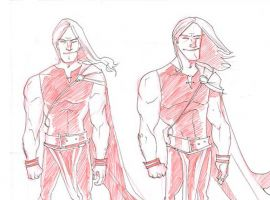 Thor sketches by Rob Guillory