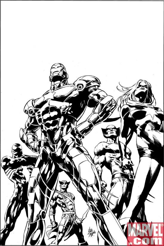 DARK AVENGERS #1 Second Printing Variant