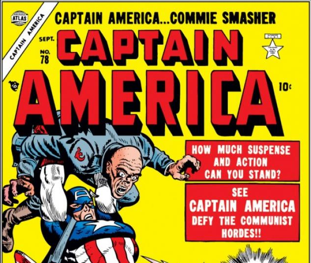 CAPTAIN AMERICA COMICS #78