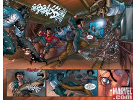 WOLVERINE: FIRST CLASS #10, pages 6-7