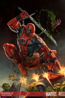 Deadpool #1  (LIEFELD VARIANT)
