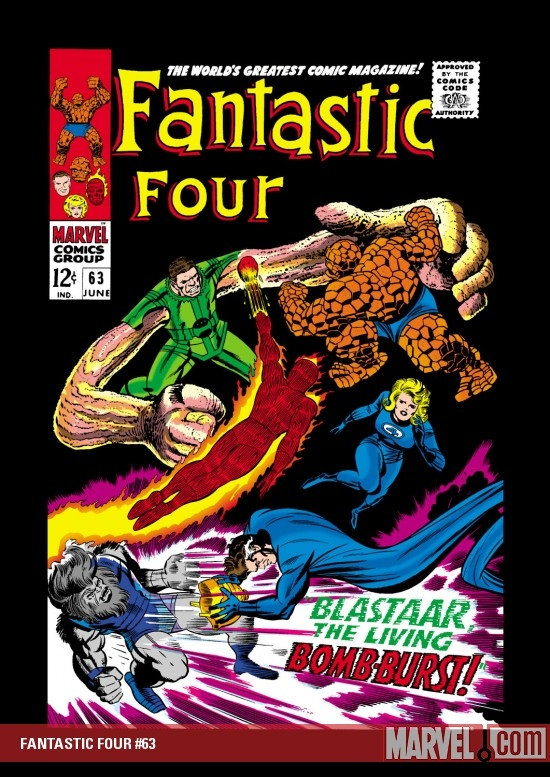 FANTASTIC FOUR #63