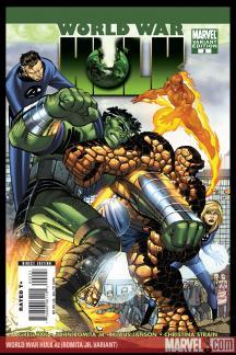 World War Hulk #2  (John Romita Jr.)