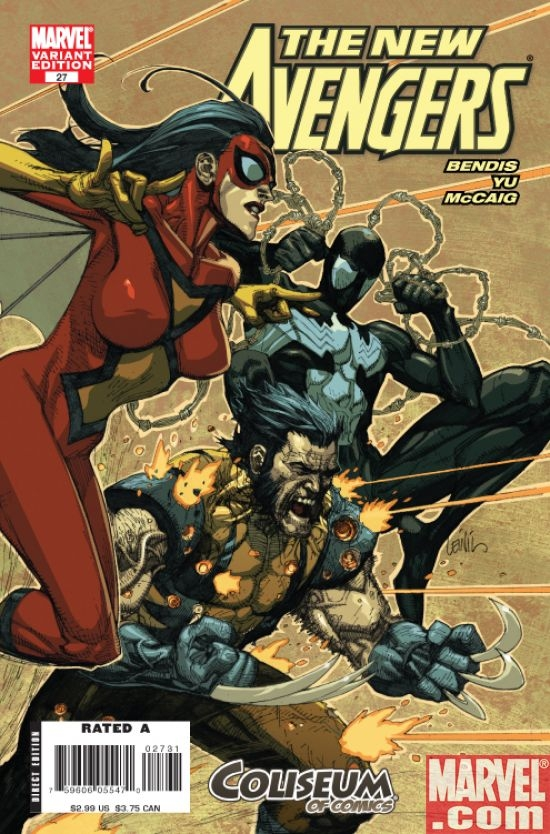 New Avengers #27 (Coliseum of Comics var.)