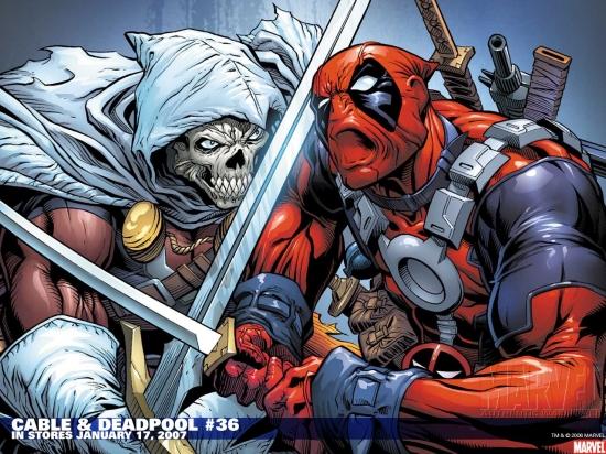 Cable & Deadpool (2004) #36 Wallpaper