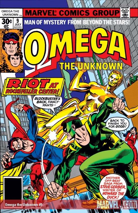 Omega the Unknown #9