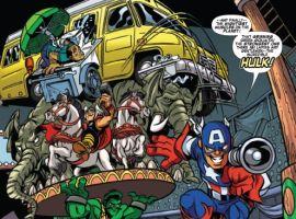 SUPER HERO SQUAD #7 preview art by Marcelo Dichiara