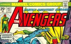 AVENGERS #143 cover