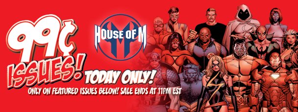 Marvel App: Get House of M Issues for 99