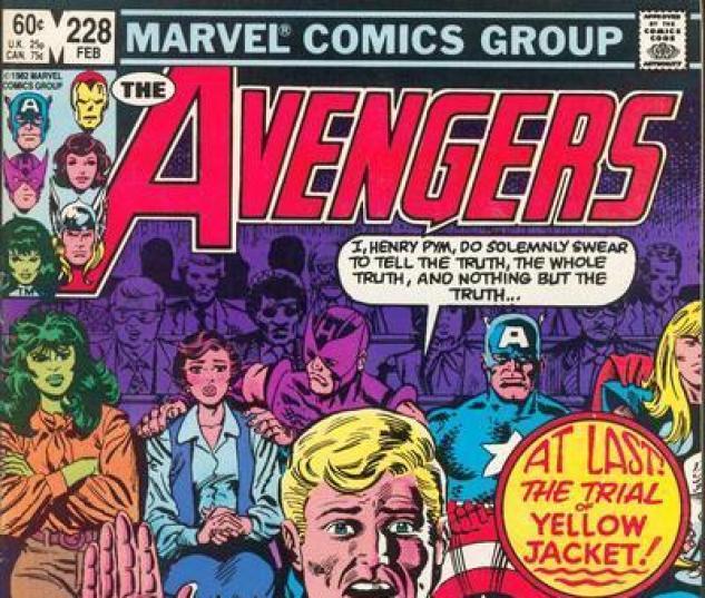Avengers #228 cover