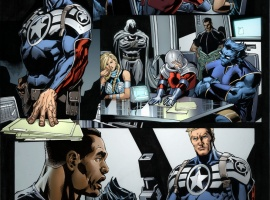 Secret Avengers #12.1 preview art by Scot Eaton