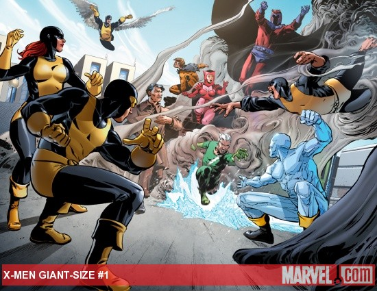 X-Men Giant-Size #1 preview art by Dalibor Talajic