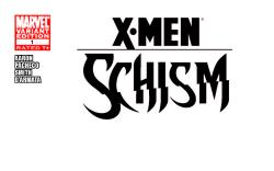 X-Schism #1, Blank Cover Variant