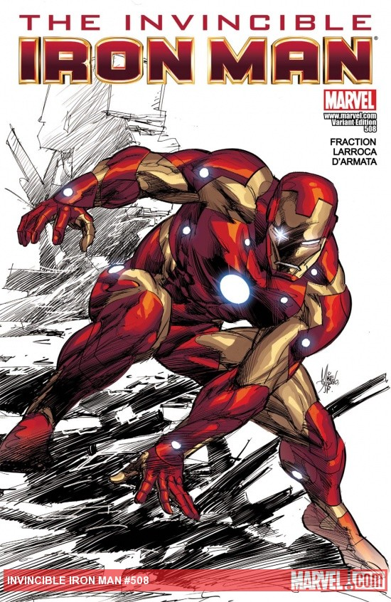 Invincible Iron Man (2008) #508