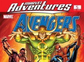 Marvel Adventures the Avengers (2006) #5