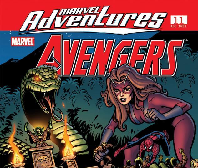 Marvel Adventures the Avengers (2006) #11
