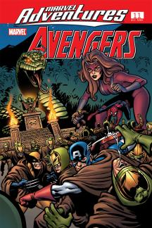 Marvel Adventures the Avengers (2006) #11