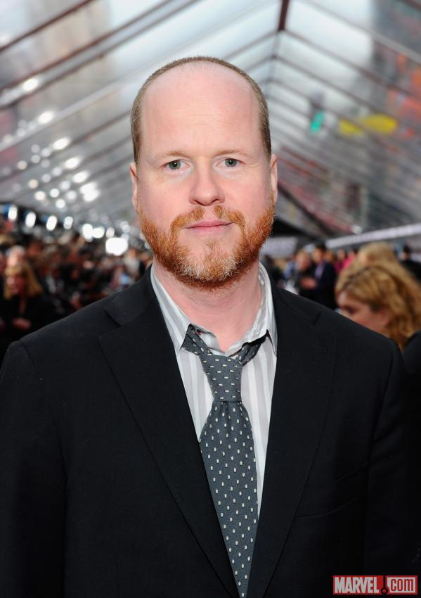 Director Joss Whedon on the Avengers red carpet