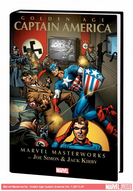 MARVEL MASTERWORKS: GOLDEN AGE CAPTAIN AMERICA VOL. 1 TPB