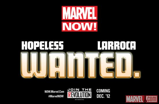 The Future of Marvel NOW! is Wanted