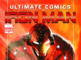 ULTIMATE COMICS IRON MAN 1 DELL'OTTO VARIANT (WITH DIGITAL CODE)