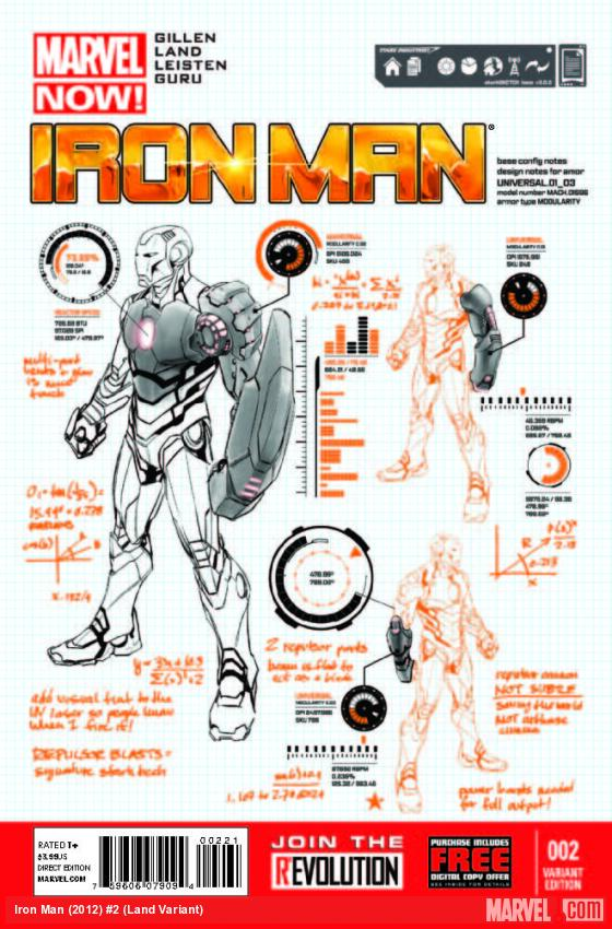 IRON MAN 2 LAND VARIANT