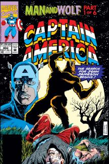 Captain America (1968) #402 Cover