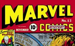 Marvel Mystery Comics (1939) #13 Cover
