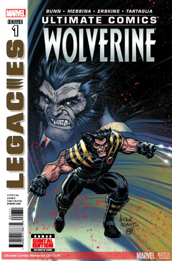 ULTIMATE COMICS WOLVERINE 1