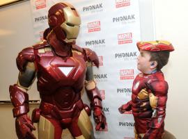 Iron Man Meets Blue Ear