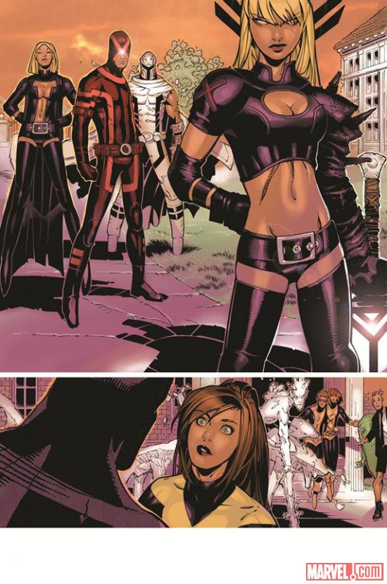 Uncanny X-Men #4 Preview Art