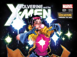 WOLVERINE & THE X-MEN 31 STEGMAN WOLVERINE COSTUME VARIANT (1 FOR 20, WITH DIGITAL CODE)