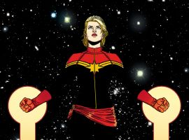 Captain Marvel by Jamie McKelvie