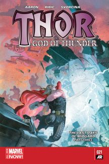 Thor: God of Thunder #21