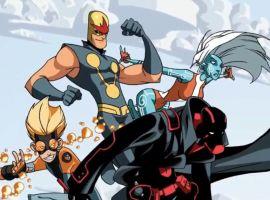 Marvel AR: New Warriors History