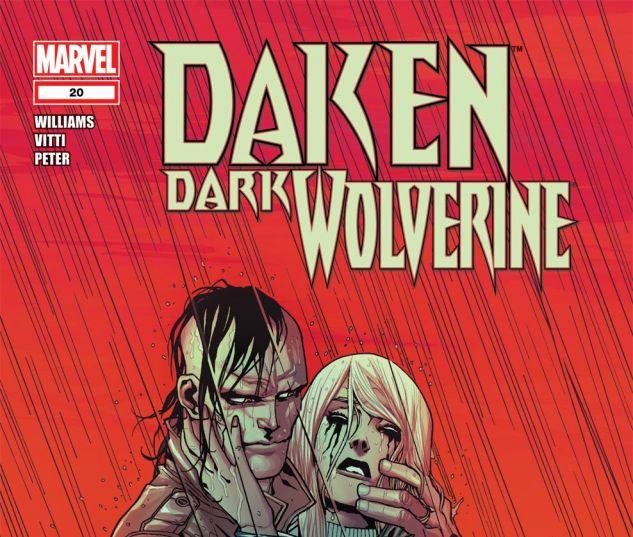 DAKEN: DARK WOLVERINE (2010) #20 Cover