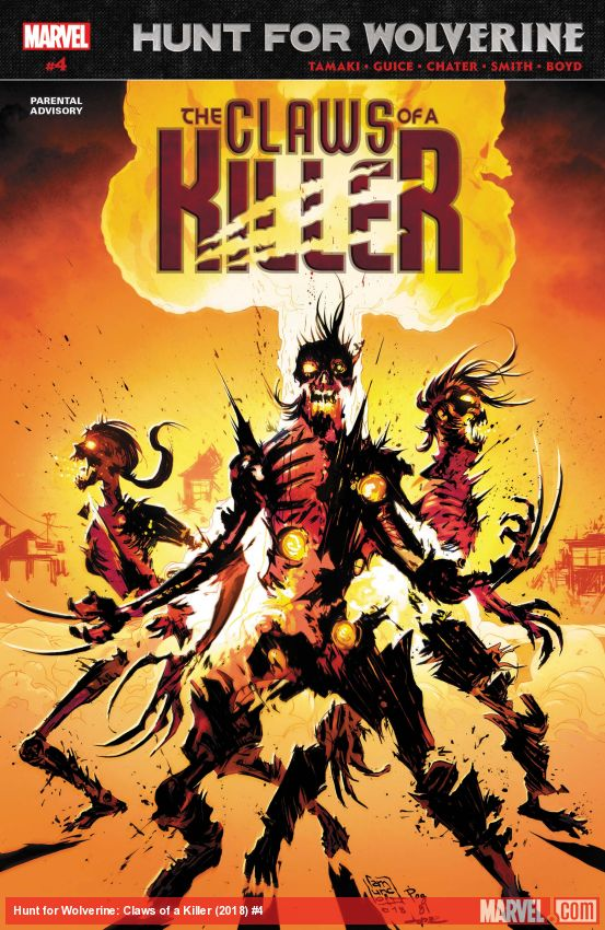 Hunt for Wolverine: Claws of a Killer (2018) #4