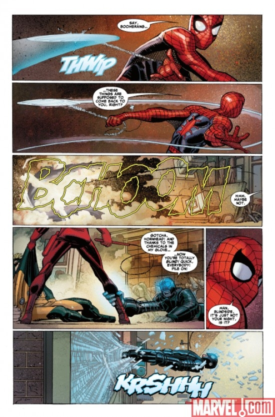 AMAZING SPIDER-MAN #600 preview art by John Romita Jr.