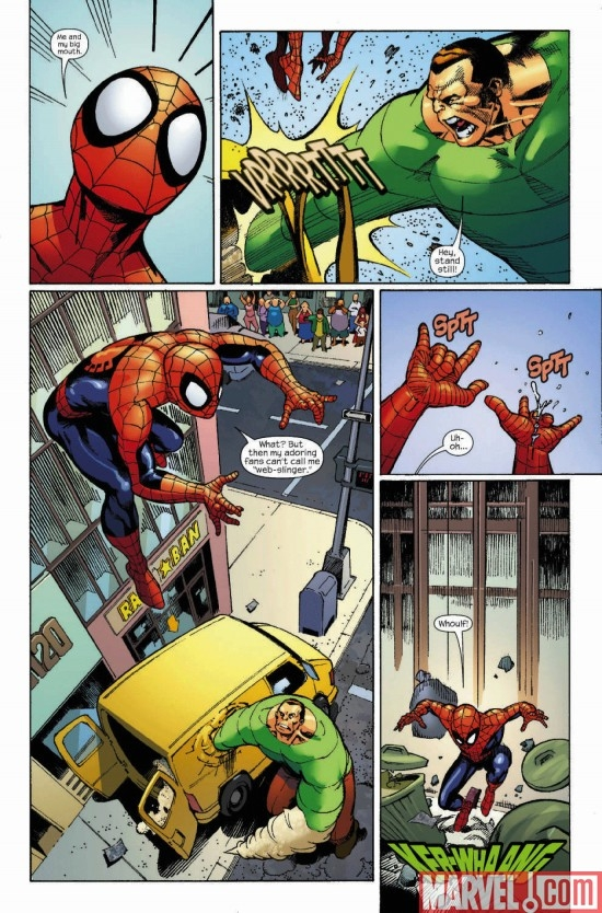 MARVEL ADVENTURES SPIDER-MAN #51, page 3