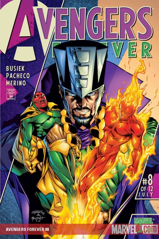 Avengers Forever (1998) #8