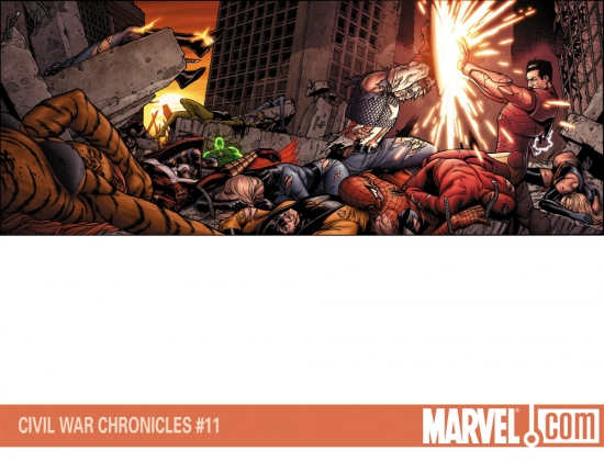 CIVIL WAR CHRONICLES #11