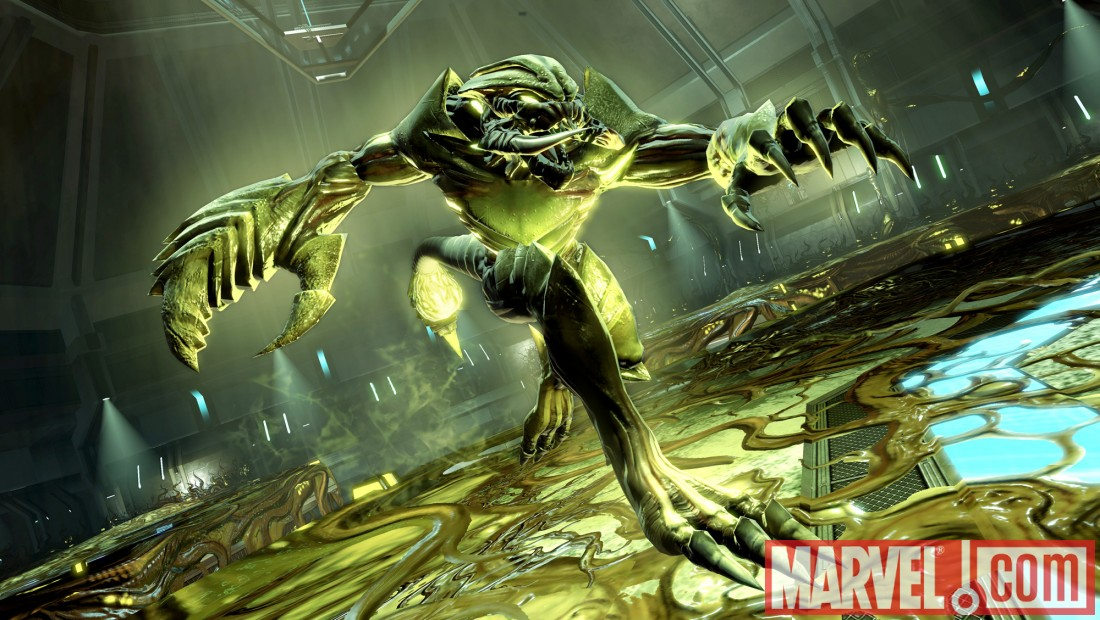 Scorpion from the 2099 universe in Spider-Man: Shattered Dimensions