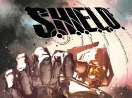 S.H.I.E.L.D. #3 cover by Gerald Parel