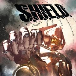 S.H.I.E.L.D. #3 cover by Gerald Parel