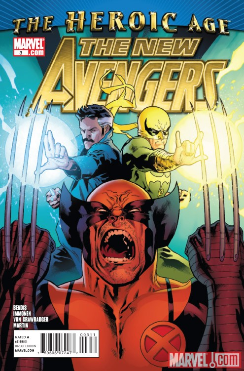 New Avengers #3 cover by Stuart Immonen