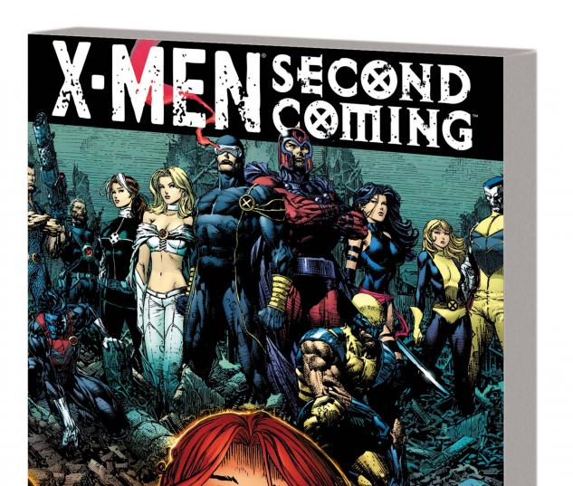 X-MEN: SECOND COMING TPB cover